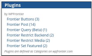 Widget-plugins